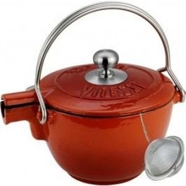 Заварочный чайник 1.15 л Vitesse (VS-2329 оранжевй)