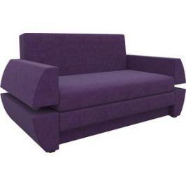 Диван Мебелико Атлант мини Т микровельвет фиолетовый