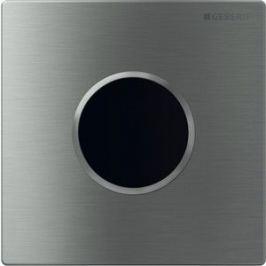 Привод смыва Geberit HyTronic Sigma 10 инфракрасный, для писсуара, питание от сети, нержавеющая сталь