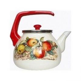 Чайник эмалированный 3.0 л Interos Яблоки 3.0л 15199