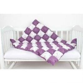 Одеяло AmaroBaby Бонбон Royal Care ВИШНЯ (100% хлопок, наполнитель файбер 100% пэ и синтепон 100% пэ, размер 90-120)
