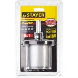 Набор буровых коронок Stayer Professional d 33, 53, 67, 73 мм , 6 предметов (33345-H6)