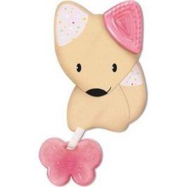 Игрушка-прорезыватель Chicco Fresh Friends 3-в-1, 4 мес+., розовый, 00002583100000 92793