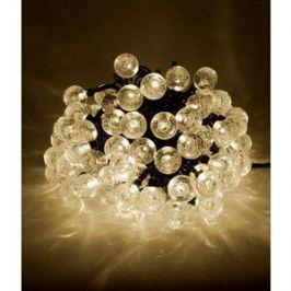 Гирлянда светодиодная Light Пузырьки 10м, 100 led, 220-230V., D23 мм тепл. белый