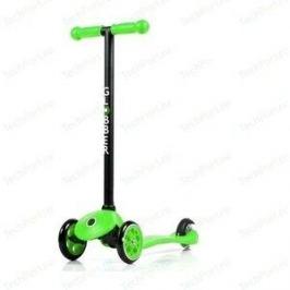 Самокат 3-х колесный Y-Scoo GLOBBER My free FIXED green с блокировкой колес (5229)