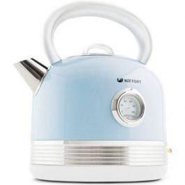 Чайник электрический KITFORT KT-634-4, голубой