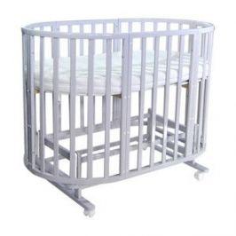 Кроватка Everflo Allure 7 в 1 C маятником gray ES-008 (ПП100004166)