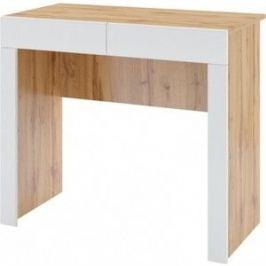 Стол туалетный Комфорт - S Arvo Хелми М 4 дуб вотан/белый глянец