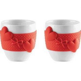 Набор из 2 чашек для кофе 80 мл Guzzini Love (11490055)