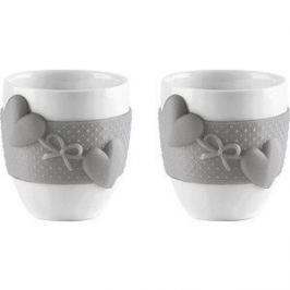 Набор из 2 чашек для кофе 80 мл Guzzini Love (11490033)