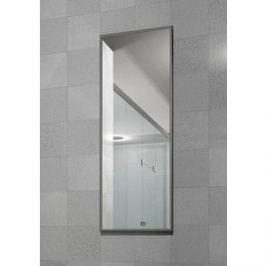 Зеркало настенное в раме Мебелик Сельетта-6 матовое серебро 110х40х9