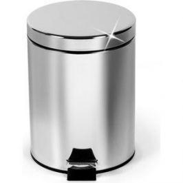 Ведро для мусора Art moon круглое с педалью и внутренним ведром 5 л, сталь,пластик, 20х28,5 см