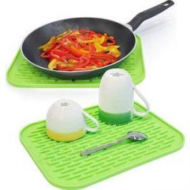 Коврик Tatkraft HOT силиконовый, для сушки посуды, набор из 2 шт, 30x1x24 см, высокая термостойкость - до 260° C