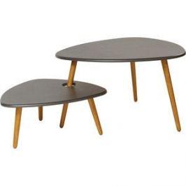 Стол журнальный Калифорния мебель Стилгрей серый лен