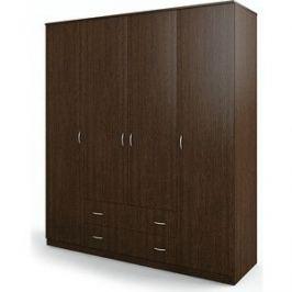 Шкаф четырехдверный Гамма Мелодия 180х60 венге