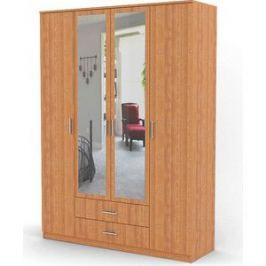Шкаф комбинированный Гамма Квартет 120х60 ольха