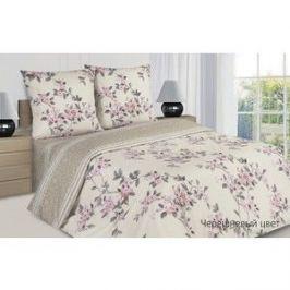 Комплект постельного белья Ecotex евро, поплин Поэтика Черешневый цвет (4660054342127)