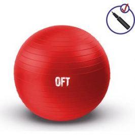Фитбол Original FitTools Гимнастический мяч 65 см красный