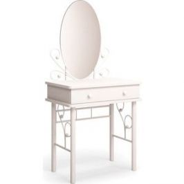 Туалетный столик МФ Мама Венера белый-белый