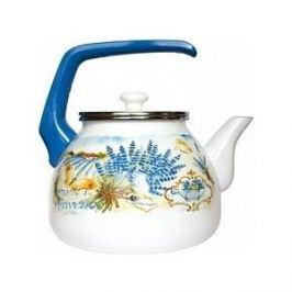 Чайник эмалированный 3.0 л Interos Лаванда 3.0л 15248