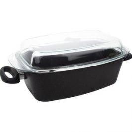 Утятница с крышкой 33х21 см AMT Gastroguss Frying Pans (AMT 3321)