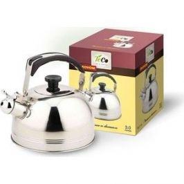 Чайник 3.0 л со свистком Teco (TC-112)