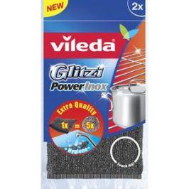 Губка VILEDA Inox Power (Инокс Пауэр) металлическая 2 шт