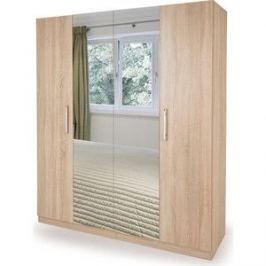 Шкаф комбинированный Гамма Шарм 140х60 дуб сонома