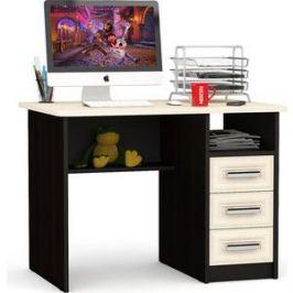 Стол письменный Мебельный двор С-МД-1-05 венге/дуб