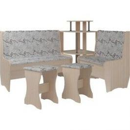 Кухонный набор Атлант Тэссера без стола 629/1-бежевая, дуб девонширский