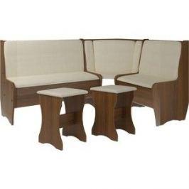 Кухонный набор Атлант Эна без стола punto - бежевый, орех экко