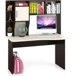 Стол компьютерный Мебельный двор С-Лидер-5 венге/дуб