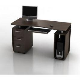 Стол компьютерный ТД Ная Прямой КС-14М Дрофа венге