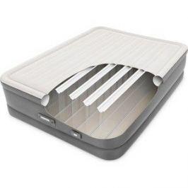 Надувная кровать Intex 64770 Dream Support Airbed 152х203х46см, встроенный насос 220V