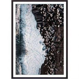 Постер в рамке Дом Корлеоне Берег с высоты 40x60 см