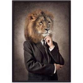 Постер в рамке Дом Корлеоне Человек-лев 30x40 см
