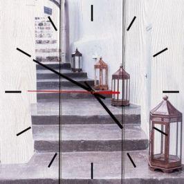 Настенные часы Дом Корлеоне Фонари 30x30 см