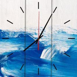 Настенные часы Дом Корлеоне Голубая вечность 30x30 см