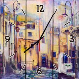 Настенные часы Дом Корлеоне Сказочный город 40x40 см