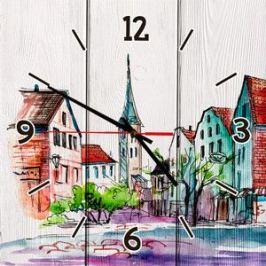 Настенные часы Дом Корлеоне Старый город 60x60 см