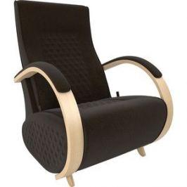 Кресло-глайдер Мебель Импэкс Balance 3 натуральное дерево/ Verona wenge