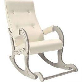 Кресло-качалка Мебель Импэкс Модель 707 дуб шампань/патина, к/з Dundi 112