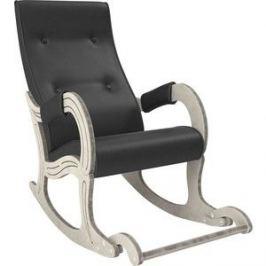 Кресло-качалка Мебель Импэкс Модель 707 дуб шампань/патина, к/з Dundi 109