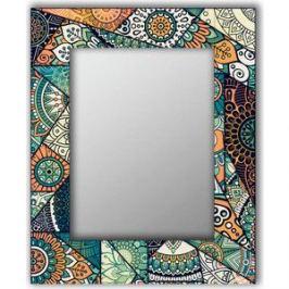 Настенное зеркало Дом Корлеоне Зеленый калейдоскоп 75x110 см