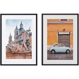 Набор из 2-х постеров Дом Корлеоне Коллаж Рим №4 50х70 см 2 шт.