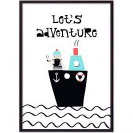 Постер в рамке Дом Корлеоне Мореплаватель 21x30 см