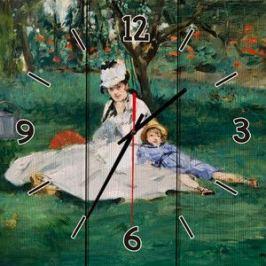 Настенные часы Дом Корлеоне Семья Моне 30x30 см