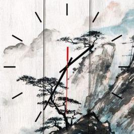 Настенные часы Дом Корлеоне Китайский пейзаж 40x40 см