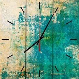 Настенные часы Дом Корлеоне Зеленый гранж 60x60 см