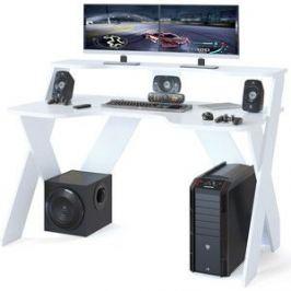 Стол компьютерный СОКОЛ КСТ-117 белый